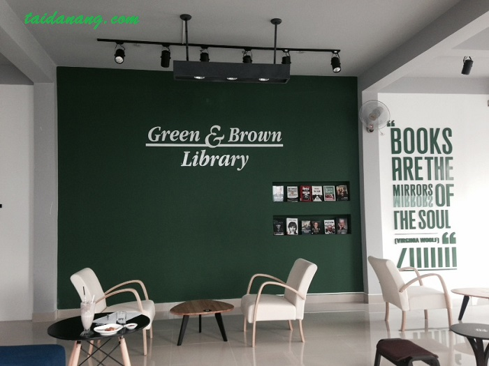 Green & Brown Book Store